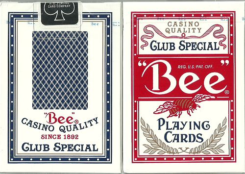 BEE-PLAYING-CARDS-RED500