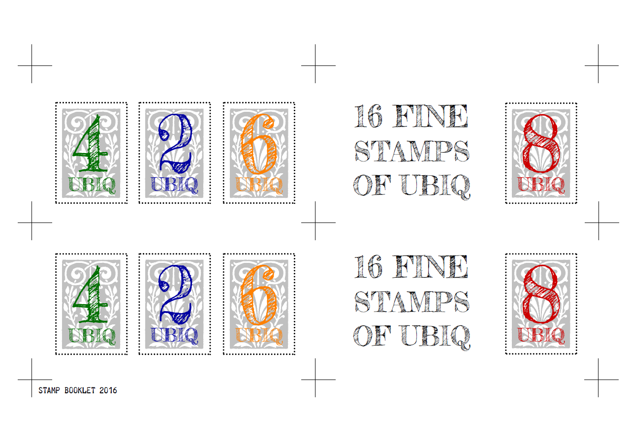 STAMP-BOOKLET