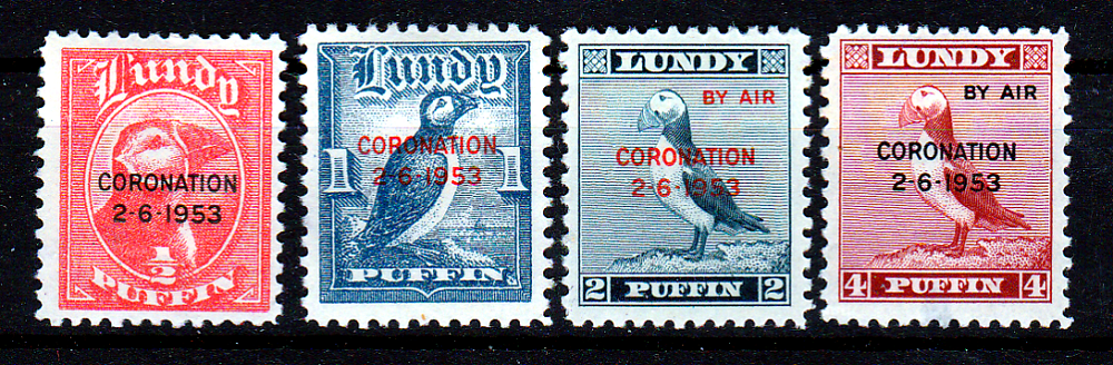 STAMPS-LUNDY-CORONATION-1953