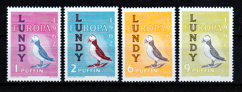 STAMPS-LUNDY-EUROPA-1962